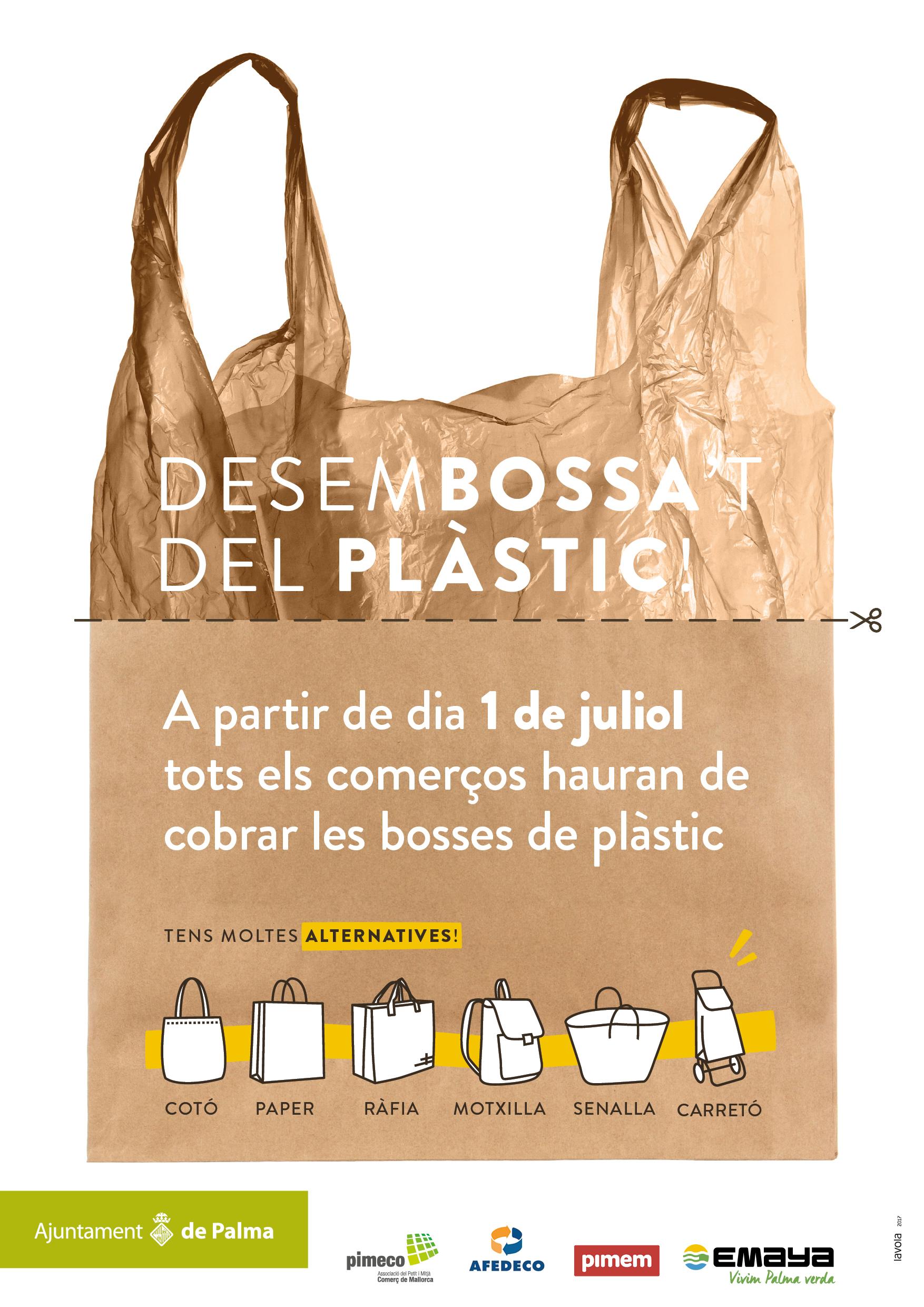 Las ComerciosUn El Plástico Obligatorio Cobro De En Los Bolsas dCxoerB