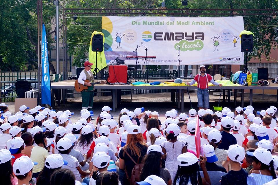 EMAYA ha presentado a los centros educativos de Palma el programa 'EMAYA a l'escola'